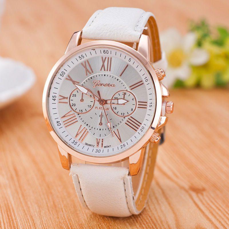 שעון יד לבן