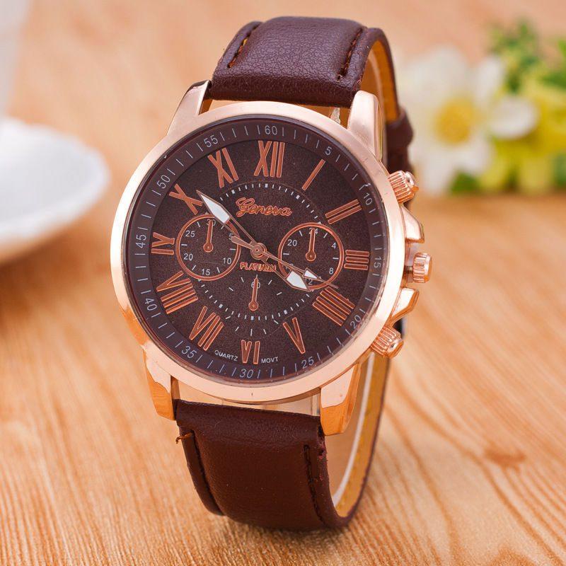שעון יד מעוצב חום