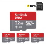 כרטיס זיכרון SanDisk מקורי אנטי-מגנטי ונגד מים
