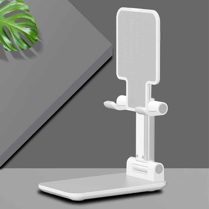 מעמד לטלפון נייד או טאבלט לשולחן העבודה 2