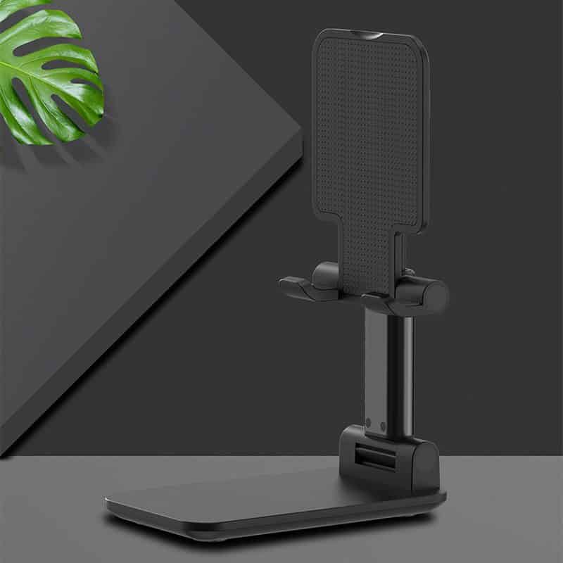 מעמד לטלפון נייד או טאבלט לשולחן העבודה 3