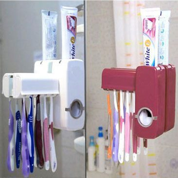 מתקן אוטומטי למשחת שיניים