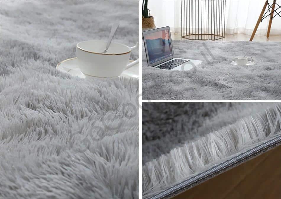 דוגמא שטיח אפור
