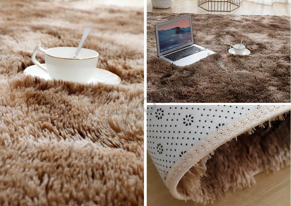 דוגמה שטיח חום