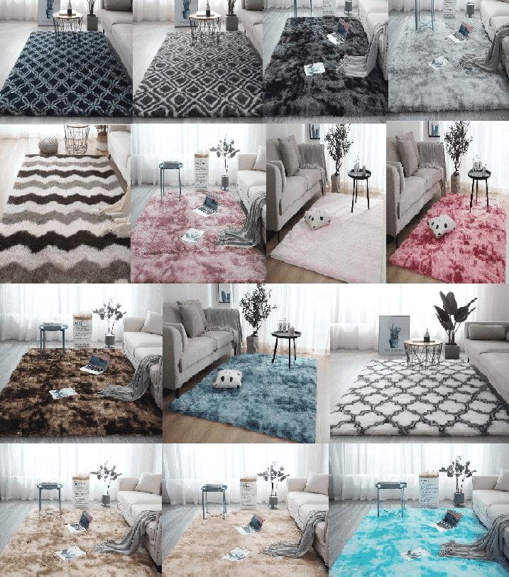 שטיח פרווה לסלון ולחדר - מגוון עיצובים