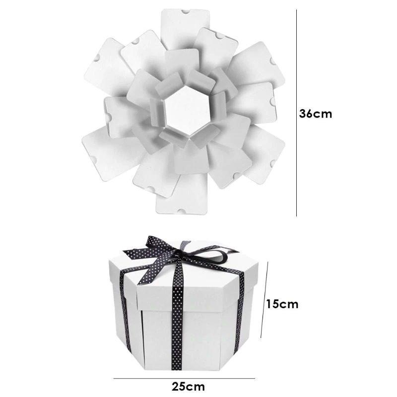 קופסת מתנה לבנה