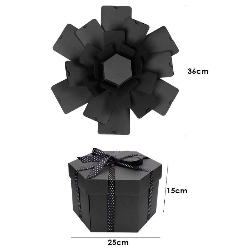 קופסת מתנה שחורה