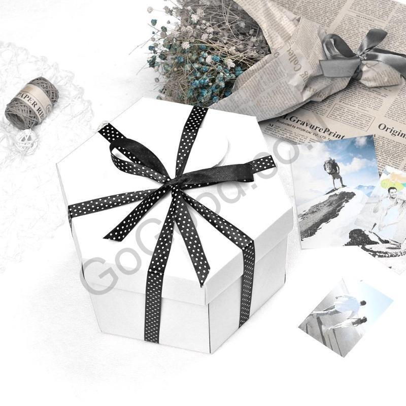 קופסת מתנה סגורה