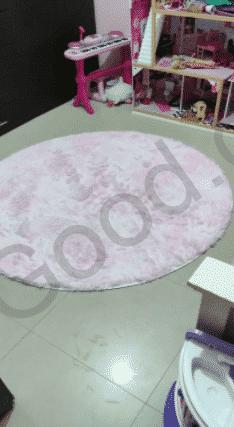 שטיח ורוד עגול
