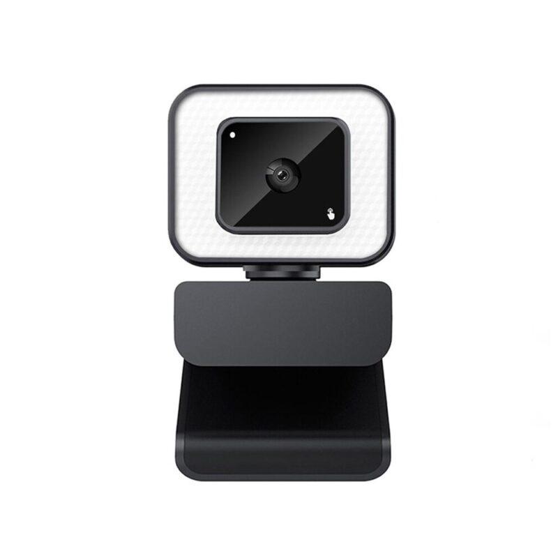 מצלמת רשת מתקדמת עם תאורת לד מובנית