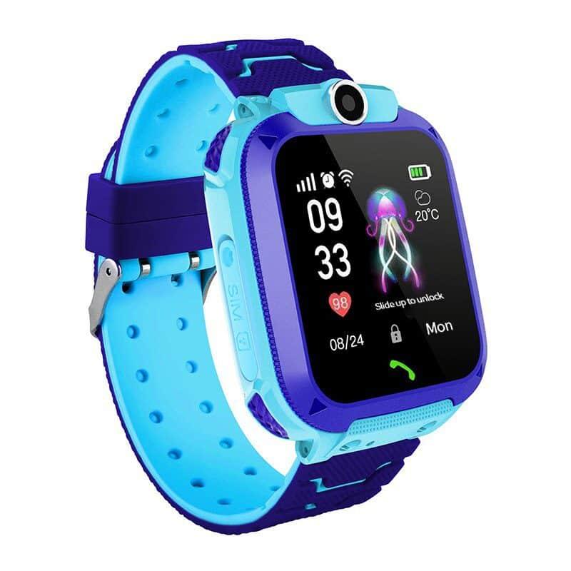 שעון-טלפון חכם בעברית לילדים עם GPS ולחצן מצוקה