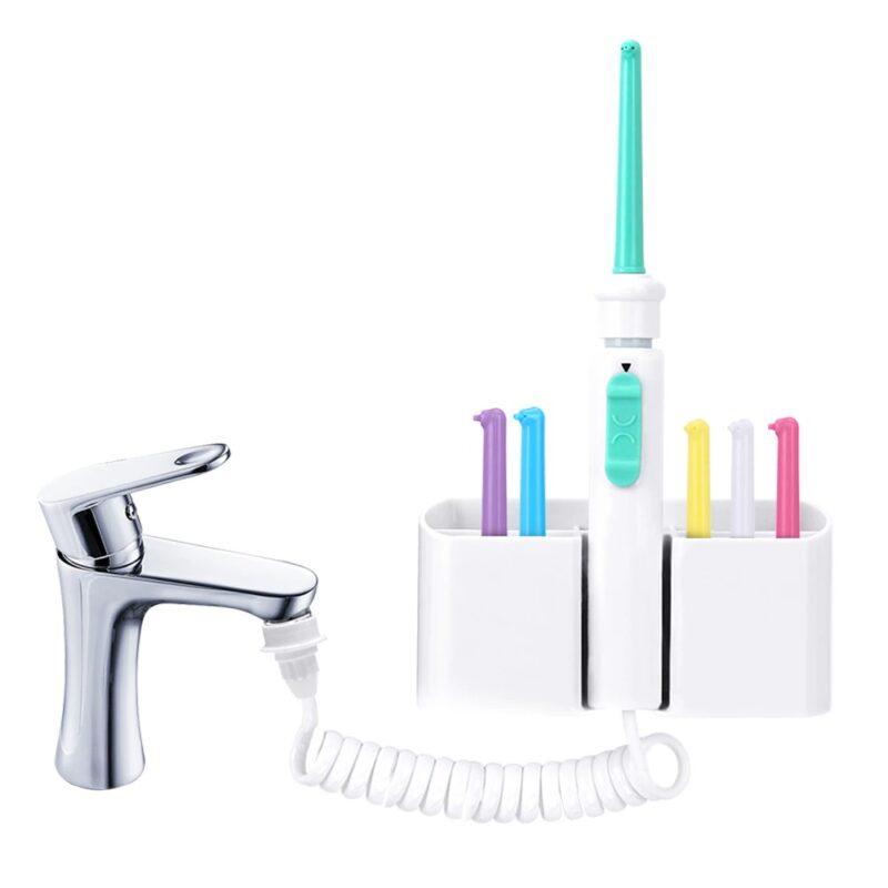 סילון דנטלי לניקוי השיניים עם חיבור לברז